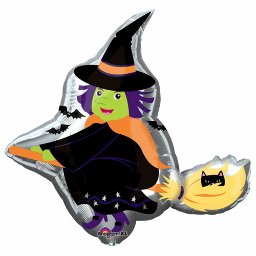 Witch Foil Balloon Super shape Balloon